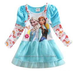 Регланы, платья с героинями Холодное сердце Акция