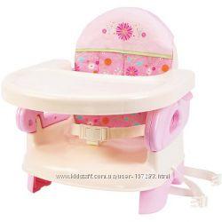 Summer Infant Стульчик-бустер Deluxe Folding Booster Seat розовый