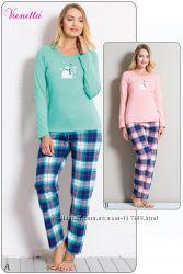 Vienetta  Secret хлопковая пижамка в наличии