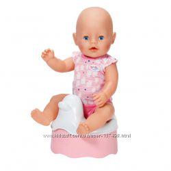 Интерактивный горшок zapf creation со звуком для куклы Baby Born 822531
