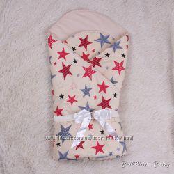 Демисезонный конверт-одеяло на выписку Valleri
