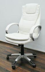 Шикарное белое компьютерное кресло