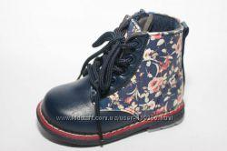 Деми ботинки для девочки, р. 22, 25. Цена снижена