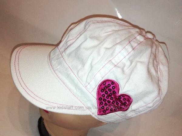 Яркие кепки для девочек и девушек ОГ 54-58 С&A Германия