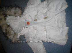 Модна біла курточка mayoral та штанці