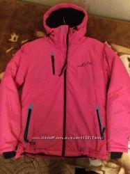 Термо-куртка. Стильный дизайн. Польша. Розовая в наличии