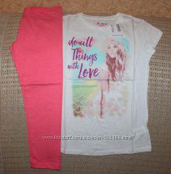 Новые футболки девочке 3-8 лет от Crazy8, Gymboree