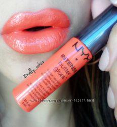 NYX Intense Butter Gloss - блеск для губ. Оригинал. США