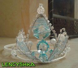 Корона диадема принцессы Эльзы -холодное сердце