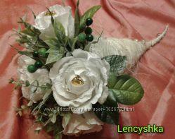 Букет троянд з цукерками For you