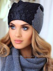 шапки для девушек фото