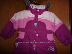 Пальто зимнее р. 2-3 годика