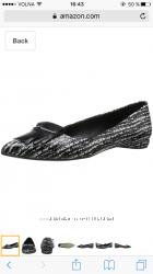 Туфли Delman, кожа питона, 6, 5 размер