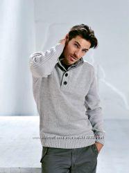 Теплые объемные мужские свитера с C&A, большой выбор моделей, распродажа