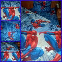 постельное белье, комплект Spider Man