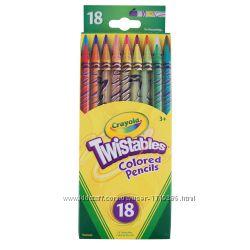 Crayola Twistables Цветные карандаши