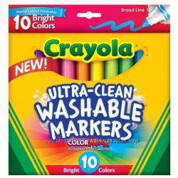 Crayola маркеры 10 шт