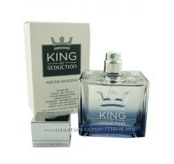 Antonio Banderas King of Seduction туалетная вода 100 мл тестер оригинал