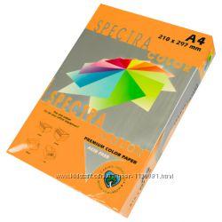 бумага  Spectra Color оранжевая