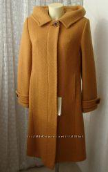 Пальто демисезонное шерсть качество р. 50 7314