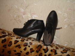 Шикарные фирменные ботиночки Gabor, размер 37