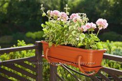 Балконный ящик для цветов  80 см, Ламела