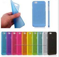 чехол iPhone 4 4s  5 5s se 6 6s  6 plus 7 7plus  разные цвета