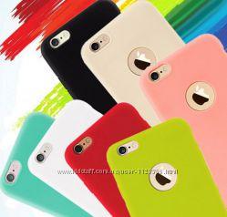 чехол силикон iphone айфон  5 5s se 6 6s 6plus 7 7plus
