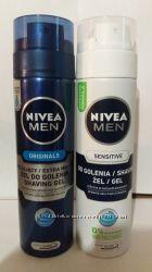 NIVEA Гель для бритья Для чувствительной кожи 200 мл.