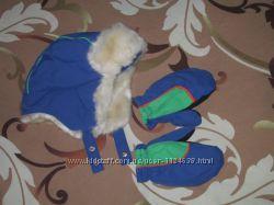 Теплая зимняя шапочка Chicco Flurry.