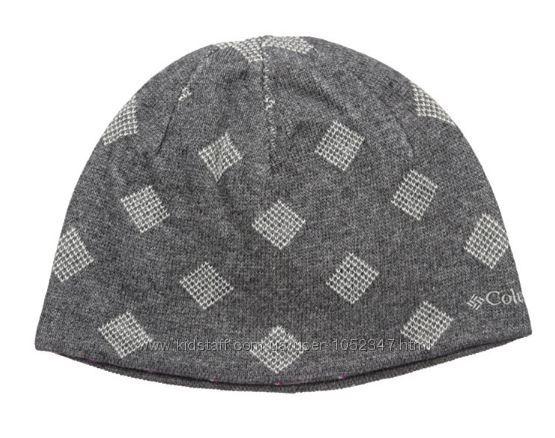 Двухсторонние демисезонные шапки Columbia, оригинал из США