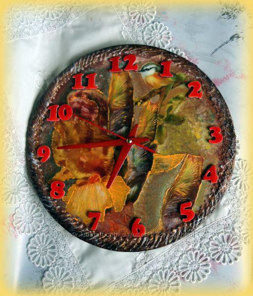 Часы настенные Ирисы