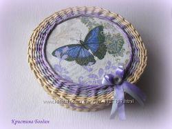 Шкатулка Бабочка