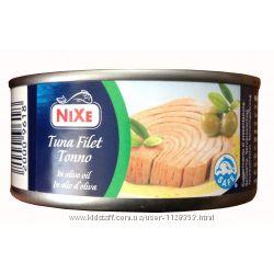 Тунец в масле и собственном соку  Nixe Tuna, RIO