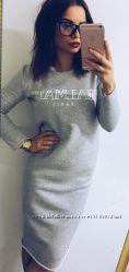 СП Теплое платье из трехнитки 3 цвета 350 грн