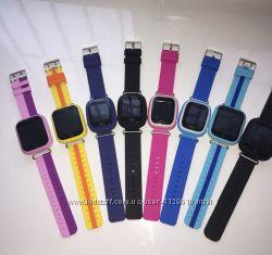 Детские умные смарт часы-телефон Q90Q100