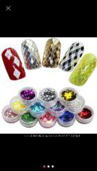 Продам 3D блёстки для дизайна ногтей