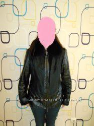 Демисезонная кожаная куртка, 48-50