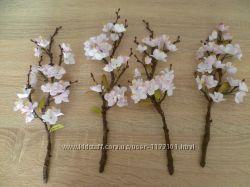 Сакура в цвету фоамиран