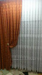 Плотные шторы атлас