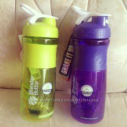 Стильная бутылка-шейкер BlenderBottle SportMixer 840мл все цвета в наличии