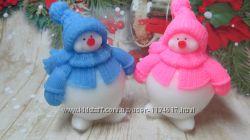 Мыло ручной работы Снеговик
