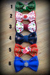 Новогодняя бабочка-галстук