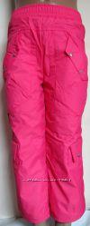 Красивые теплые брюки на синтепоне Одягайко р. 92-98