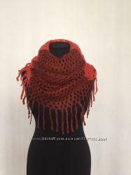 Стильный шарф труба. Разные цвета
