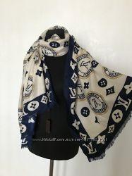 Женский шарф палантин бренд LV