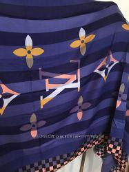 Красивый качественный женский шарф палантин LV