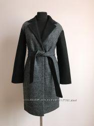 Стильное женское пальто с поясом 47dd8b90921cc