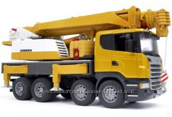 Bruder 03570  Автокран Scania Liebherr