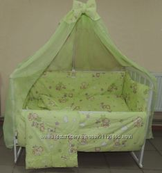 Комплекты детского постельного белья 9 в 1